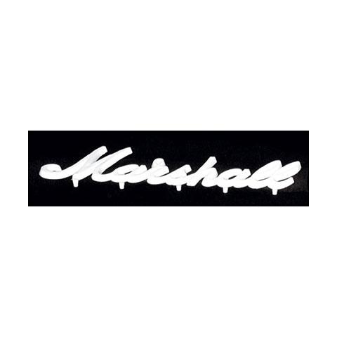 Marshall Logo weiß, klein