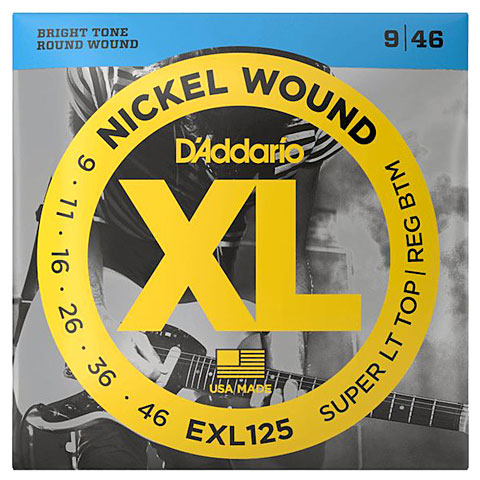 D'Addario EXL125 Nickel Wound .009-046