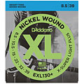 Corde guitare électrique D'Addario EXL130+ Nickel Wound .0085-039