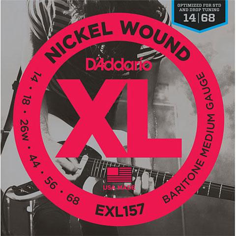 D'Addario EXL157 Nickel Wound .014-068 Baritone