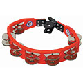 Tambourin Latin Percussion Cyclop LP161 Steel Jingles Mountable Tambourine