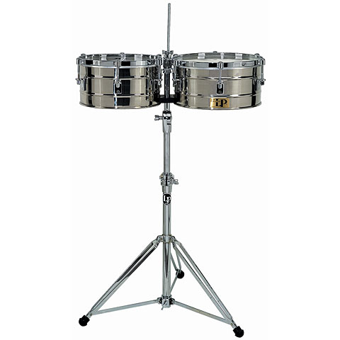 Latin Percussion Tito Puente LP255-S Stainless Steel