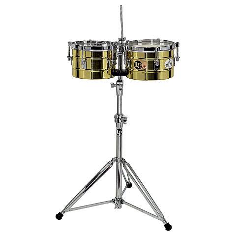 Latin Percussion Tito Puente LP272-B Timbalitos Solid Brass