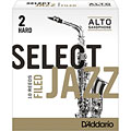 D'Addario Select Jazz Filed Alto Sax 2H « Anches