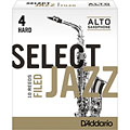 D'Addario Select Jazz Filed Alto Sax 4H « Anches