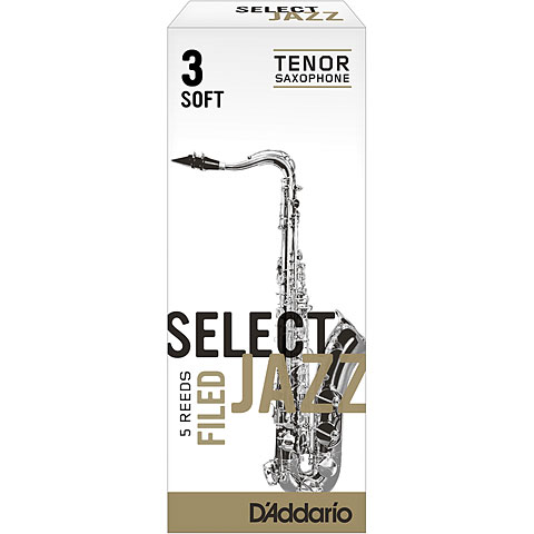 D'Addario Select Jazz Filed Tenor Sax 3S