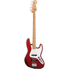 Fender Standard Jazzbass MN Candy Apple Red « Basse électrique