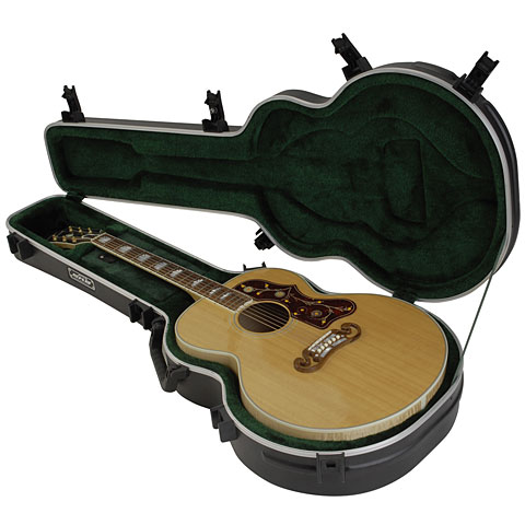 SKB 20 Universal Jumbo Acoustic Deluxe Guitar Case