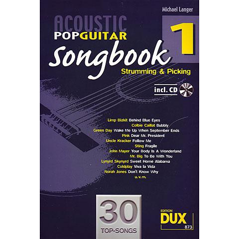 Dux Acoustic Pop Guitar Songbook 1