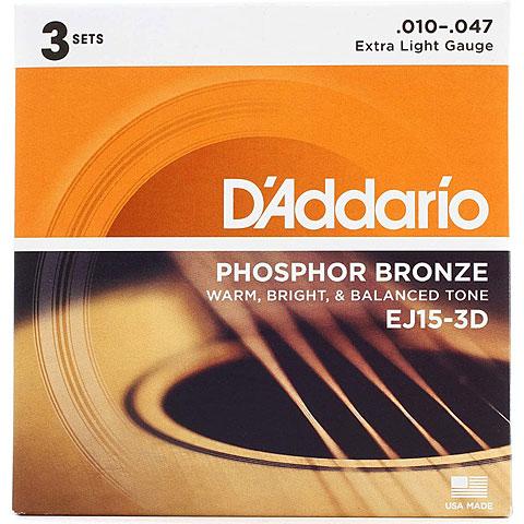 D'Addario EJ15-3D .010-047