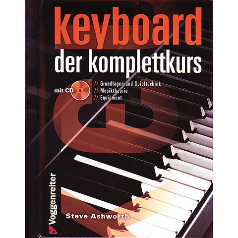 Voggenreiter Keyboard - der komplettkurs