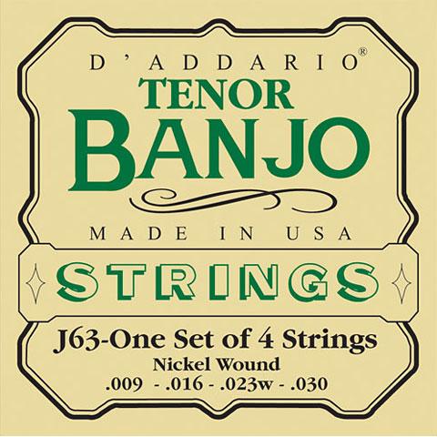 D'Addario J63 Tenor Banjo