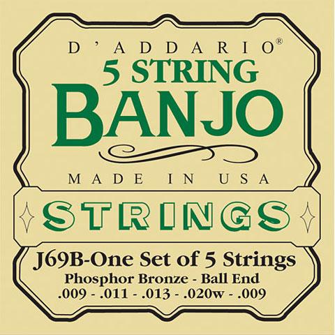 D'Addario J69B 5-String Banjo