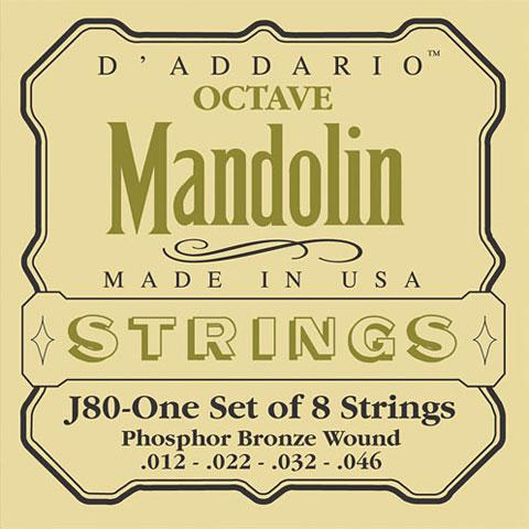 D'Addario J80 Octave Mandolin