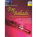 Recueil de Partitions Schott Flute Lounge Pop Ballads