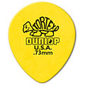 Médiators Dunlop Tortex TearDrop 0,73mm (72Stck)