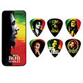 Médiators Dunlop Bob Marley Rasta Pick Tin