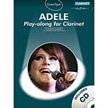 Play-Along Music Sales Adele for clarinet