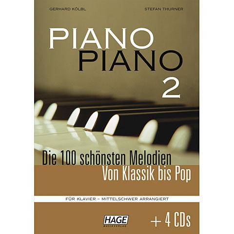 Hage Piano Piano 2 (Mittelschwer) + 4 CDs