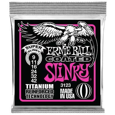 Ernie Ball Coated Slinky EB3123 009-042