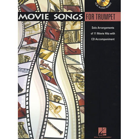 Hal Leonard Movie Songs for Trumpet