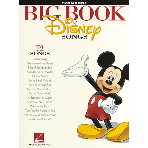 Hal Leonard Big Book Of Disney Songs - Trombone
