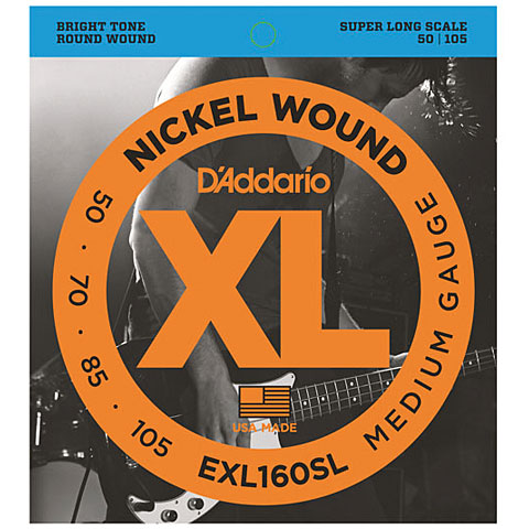 D'Addario EXL160SL Nickel Wound .050-105