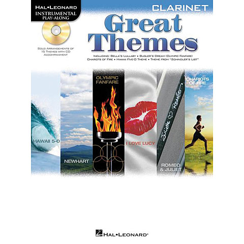 Hal Leonard Great Themes for Clarinet