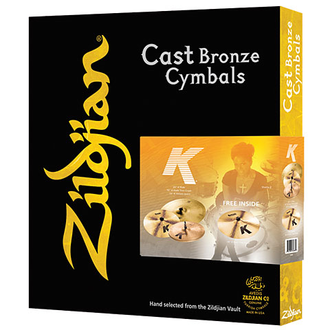 Zildjian K Cymbal Set 14HH/16C/18C/20R