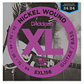 Corde guitare électrique D'Addario EXL156 Nickel Wound .024-084
