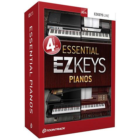 Toontrack EZkeys Essential Pianos Bundle