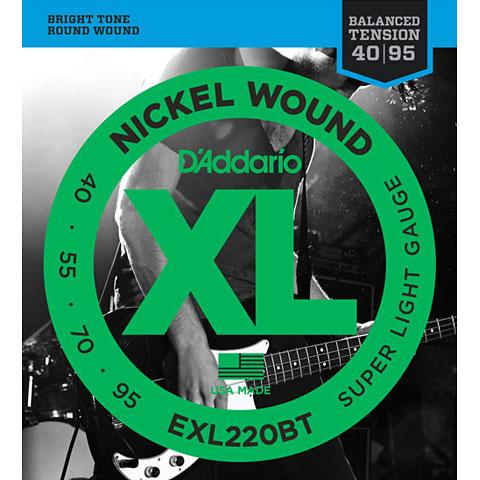 D'Addario EXL220BT Nickel Wound .040-095