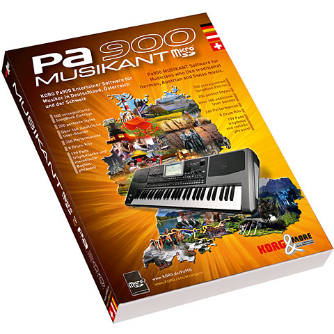 Korg PA 900 Musikant Software