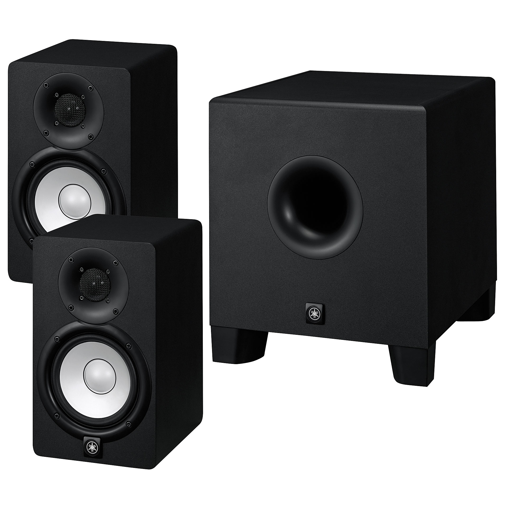 yamaha hs5 subwooferbundle enceintes actives. Black Bedroom Furniture Sets. Home Design Ideas