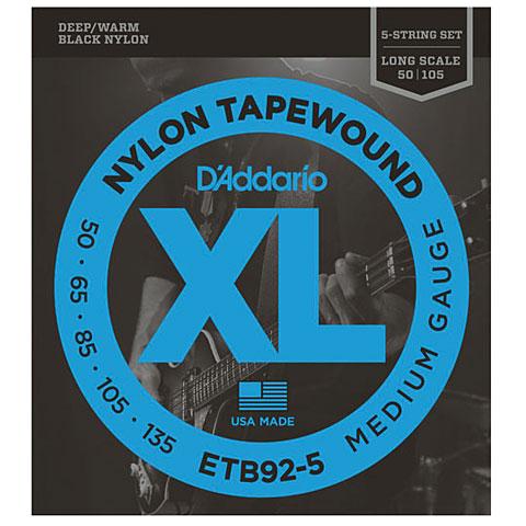 D'Addario ETB92-5 Nylon Tapewound .050-135