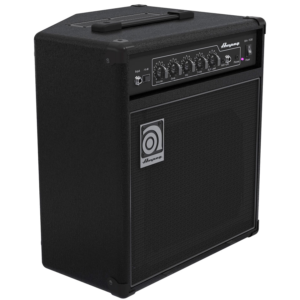 ampeg ba 108 v2 ampli basse combo. Black Bedroom Furniture Sets. Home Design Ideas