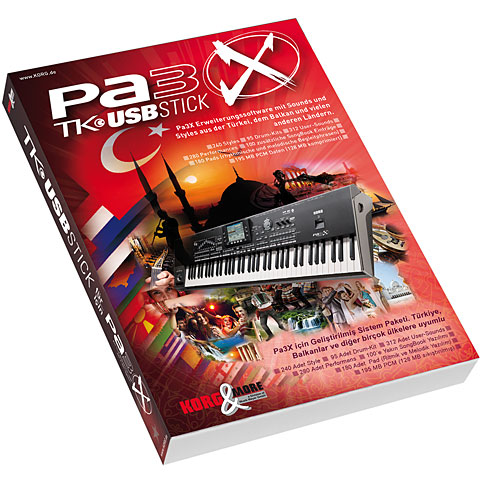 Korg Pa 3X TK Software