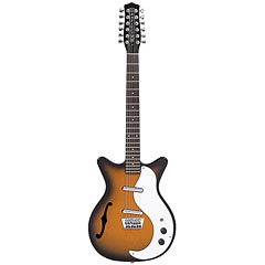Danelectro DC59TSB 12-String Hollowbody « Guitare électrique