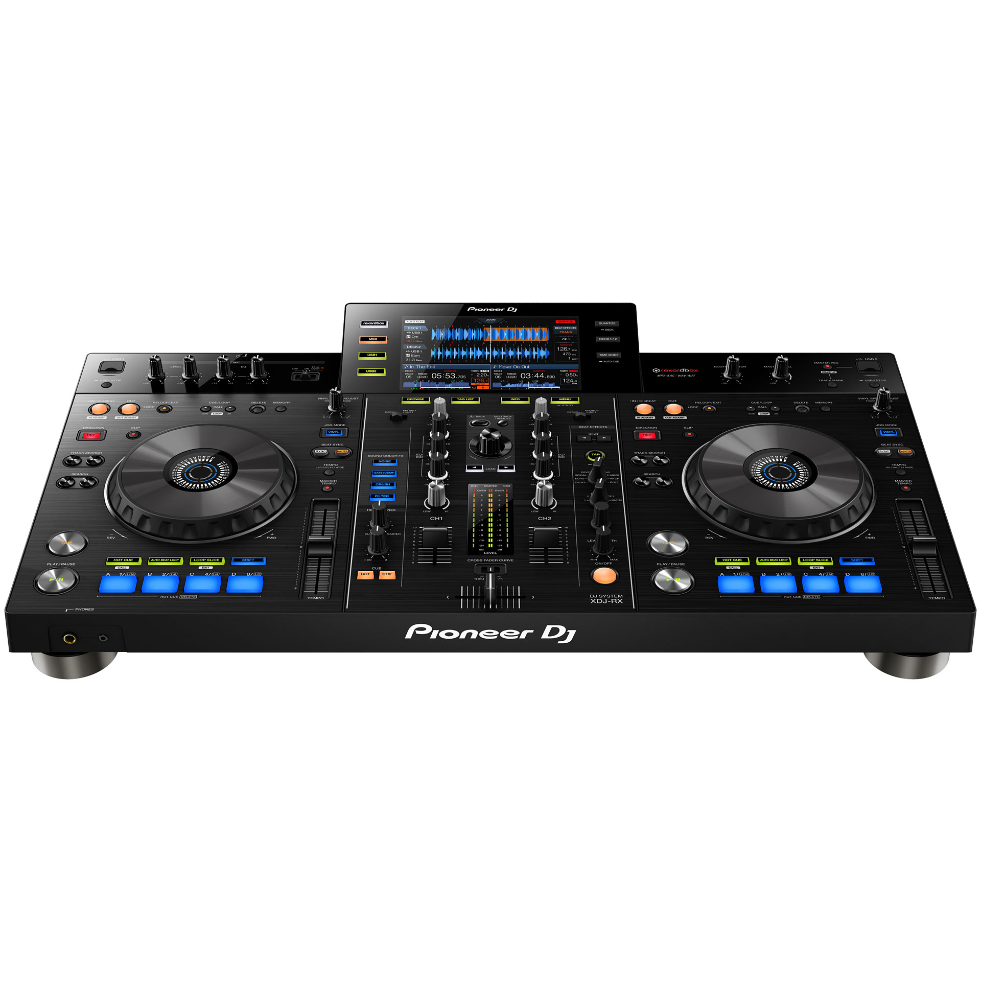 pioneer xdj rx contr leur dj. Black Bedroom Furniture Sets. Home Design Ideas