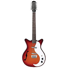 Danelectro DC59CSB 12-String Hollowbody « Guitare électrique