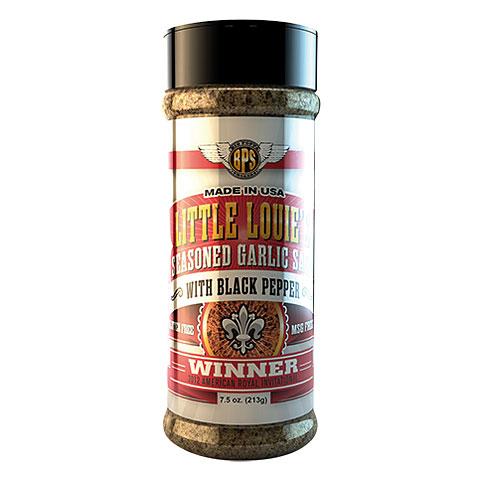 Big Poppa Smokers BPS Lil Louie's Garlic Salt w/Pepper 7.5 oz/213g