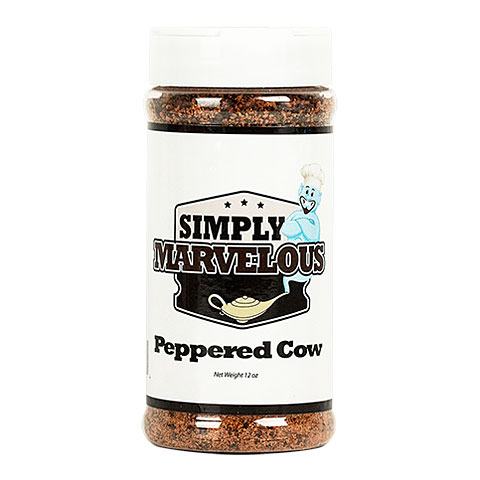 Simply Marvelous Peppered Cow 12 oz/340 g