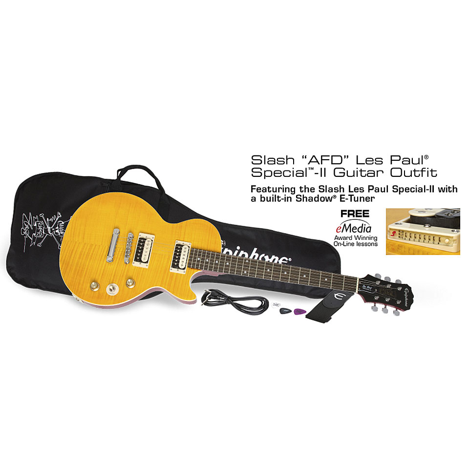 epiphone les paul special ii slash afd guitare lectrique. Black Bedroom Furniture Sets. Home Design Ideas