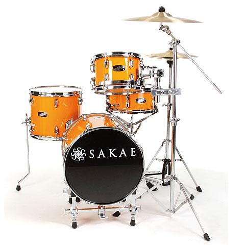 Sakae Pac-D Orange Compact Drumset