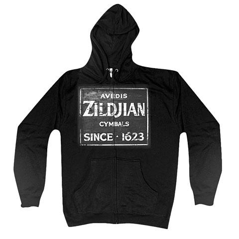 Zildjian Quincy Vintage Sign T4643 Zip Hoodie L