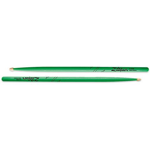 Zildjian Hickory 5AW Acorn Neon Green