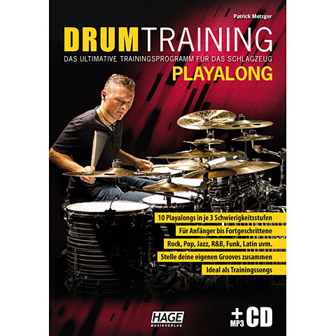 Hage Drum Training Playalong