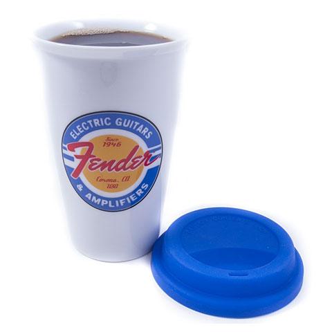 Fender Kaffeetasse Ceramic Cup White