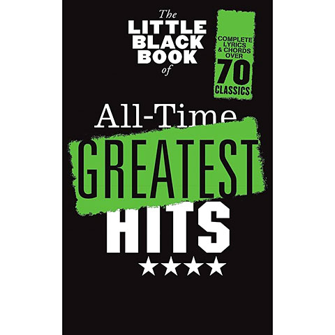Music Sales The Little Black Songbook All-Time Greatest Hits