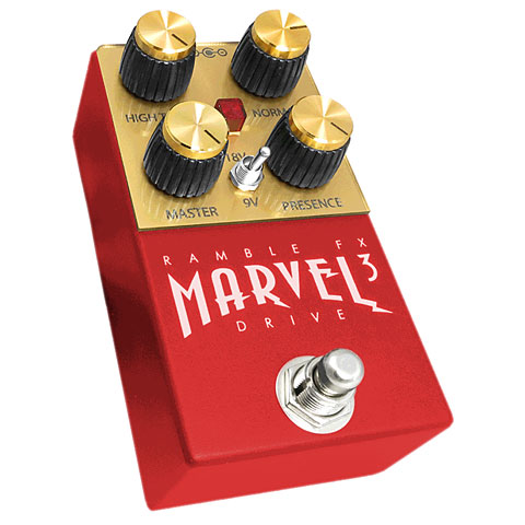 Ramble FX Marvel Drive 3 RED